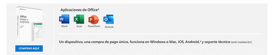 Microsoft Office Hogar y Empresas