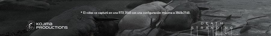 El video se capturó en una RTX 2060 con una configuración máxima a 3840x2160