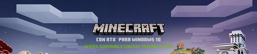 Minecraft con RTX